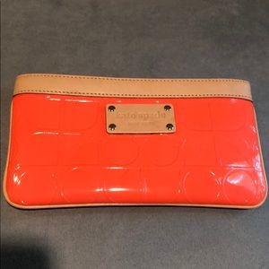 Kate Spade Coral Zip pouch